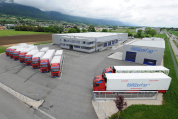 Burgener Transport AG Areal